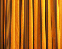 Yellow abstract background with stripes stock images