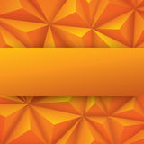 Yellow abstract background vector. Stock Photography