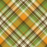 Yellow abstract check pixel plaid seamless pattern. Vector illustration vector illustration