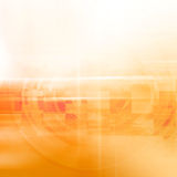 Yellow Abstract Futuristic Background Royalty Free Stock Photo