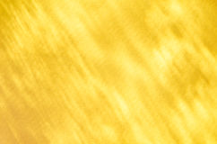 Yellow abstract light reflection background Stock Photography