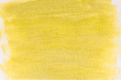 Yellow abstract painted background Royalty Free Stock Photography