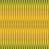 Yellow abstract repeated pattern Royalty Free Stock Photography
