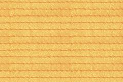 Yellow abstract seamless stitched leather Stock Photos