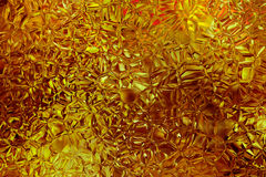 Yellow abstract shatter background Royalty Free Stock Photo
