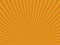 Yellow abstract sun rays. Eps 10. Royalty Free Stock Images