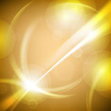 Yellow abstract technology backgrounds.  royalty free illustration
