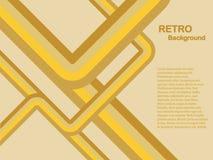 Yellow Abstract Vector Background Stock Photos