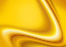 Yellow Abstract Wave Background Stock Photo