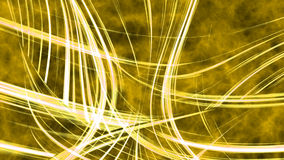 Yellow Abstract Wave lines background. Stock Photo