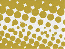 Yellow Abstracts Bubbles Textures Vector Collection Royalty Free Stock Image
