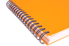 Yellow agenda. To take notes Stock Images