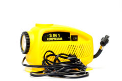 Yellow air pump Stock Photos