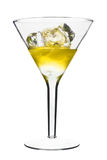 Yellow Alcoholic Cocktail Royalty Free Stock Photography