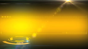 Yellow animation background for intro tv show. As background stock video footage