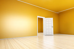 Yellow Apartment Royalty Free Stock Photos