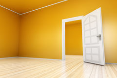 Yellow Apartment Stock Photo