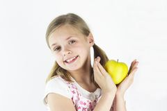 Yellow Apple 1 Royalty Free Stock Images