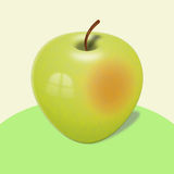 Yellow apple Royalty Free Stock Photography