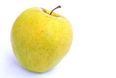 Yellow apple Royalty Free Stock Image