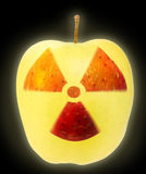 Nuclear danger Royalty Free Stock Images