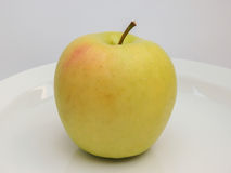 Yellow apple fruit Stock Images