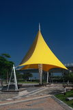 Yellow arbour Royalty Free Stock Images