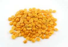 Yellow Arhar Toor Lentil Dal Grain Royalty Free Stock Image