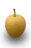 Yellow Asian Pear Royalty Free Stock Photography