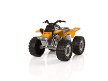 Yellow ATV Stock Image
