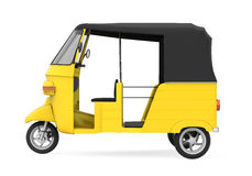 Yellow Auto Rickshaw Royalty Free Stock Photos