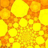 Yellow backgound Stock Images