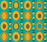 Yellow_background_2 Стоковые Изображения