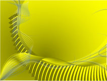 Yellow background. Abstract yellow background vector illustration Royalty Free Stock Photo