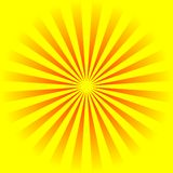 Yellow background. An illustration yellow and orange ideal for a background Stock Photos