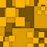 Yellow background abstract design Royalty Free Stock Images