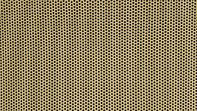 Yellow background with black dots Royalty Free Stock Images