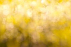 Yellow glittering background Royalty Free Stock Photo