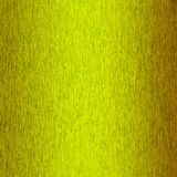Yellow background brushed metal Stock Image