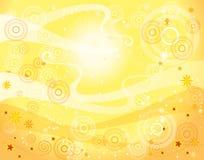Yellow background Royalty Free Stock Image