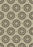 Yellow background with a delicate pattern.Backgrou Royalty Free Stock Image
