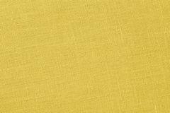 Yellow background - Linen Canvas - Stock Photo Royalty Free Stock Photography