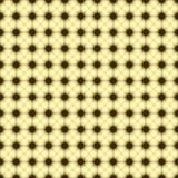 Yellow Background of multiples dots Stock Photos