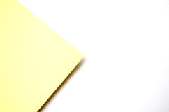 Yellow background. Yellow paper,use for background Stock Image