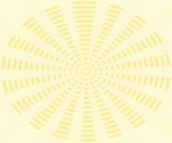 Yellow background, rays pattern Royalty Free Stock Photo