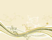 Yellow background, vector Royalty Free Stock Photography