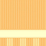Yellow background. Vector yellow background in style of a knitted cloth Royalty Free Stock Images