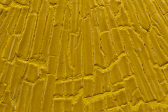 Yellow background wall Royalty Free Stock Images