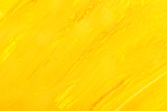 Yellow background. watercolor Stock Image
