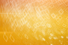 Yellow  background with white pattern Royalty Free Stock Images